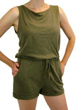 Picture of Hemp Short Jumpsuit