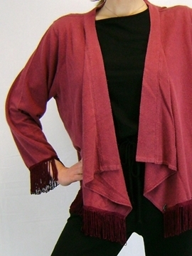 Picture of Hemp Fringe Jacket