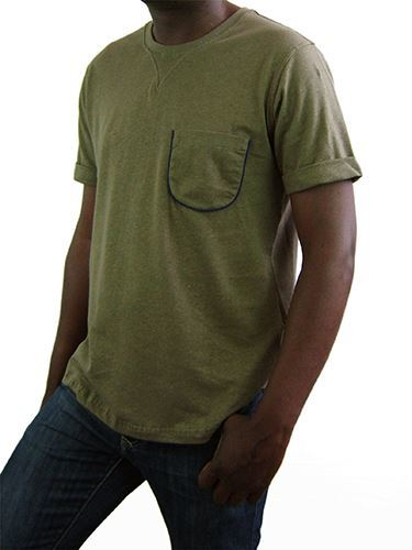 Picture of Hemp Mens Rib T-shirt