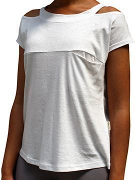 Picture of Hemp Ladies Cutout T-shirt