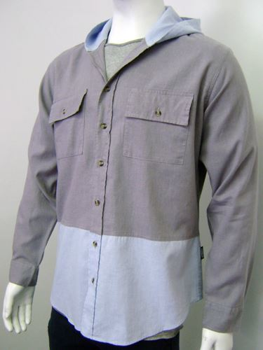 Picture of Hemp Mens Hooded Shirt