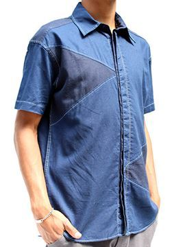 Picture of Mens Triangle Short Shirt