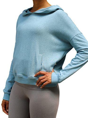 Picture of Hemp Ladies Cross-Over sweatshirt