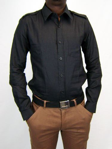 Picture of Hemp Epaulet Shirt
