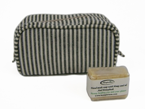 Picture of Hemp Box Toiletry Bag