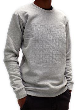 Picture of Hemp Mens Embroidered Sweatshirt