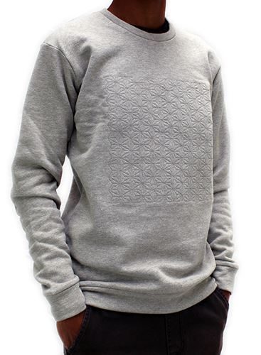 Picture of Hemp Mens Embroidered Sweatshirt