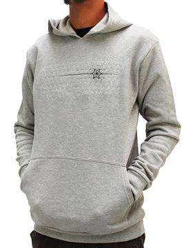 Picture of Hemp Mens Embroidered Hooded Sweatshirt