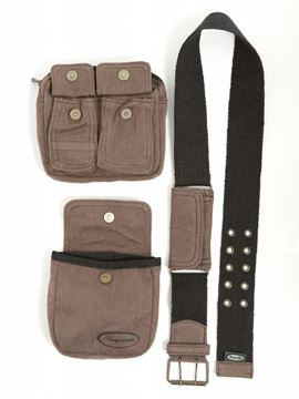 Picture of Hemp Two Bag Holster Belt