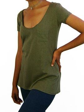 Picture of Hemp Ladies fashion T-shirt