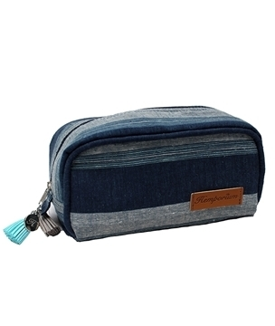 Picture of Hemp Kikoi Box Toiletry Bag