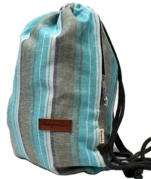 Picture of Hemp Kikoi Deluxe String Bag
