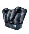 Picture of Hemp Kikoi Zipper Two Tone Bag