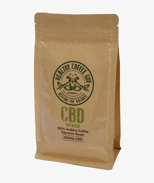 Picture of Healthy Coffee Guy CBD Espresso