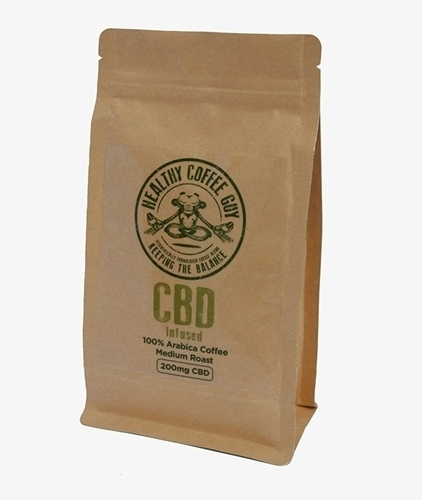 Picture of Healthy Coffee Guy CBD Filter Coffee