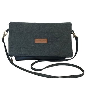 Picture of Hemp Zipper Sling Bag