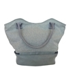 Picture of Zipper Two Tone Tote Bag