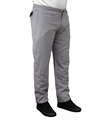 Grey slim fit mens hemp drawstring pants