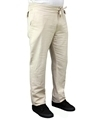 Stone slim fit mens hemp drawstring pants