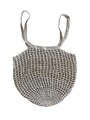 plastic-free reusable circular shopper bag handmade from sustainable hemp twine