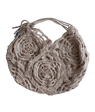 Hemp Twine Moon Beach Bag