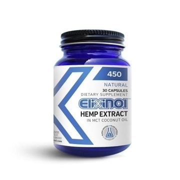 Elixinol Hemp CBD Capsules 450mg