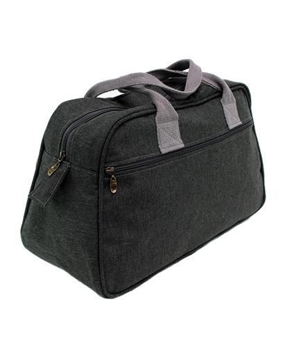 Hemp Travel bag in Steel colour variant