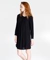 Tansy Hemp Dress in Black