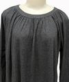 Tansy Hemp Dress in Black Melange