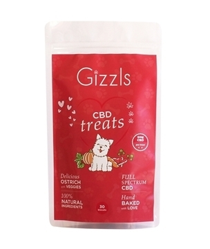 Gizzls CBD Dog Treats for Large Dogs
