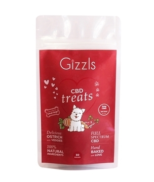 Gizzls CBD Dog Treats (Small Dogs)