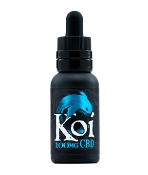 Koi CBD Vape Juice Blue Raspberry 100mg