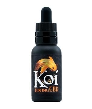Koi CBD Vape Juice Gold Vanilla 100mg