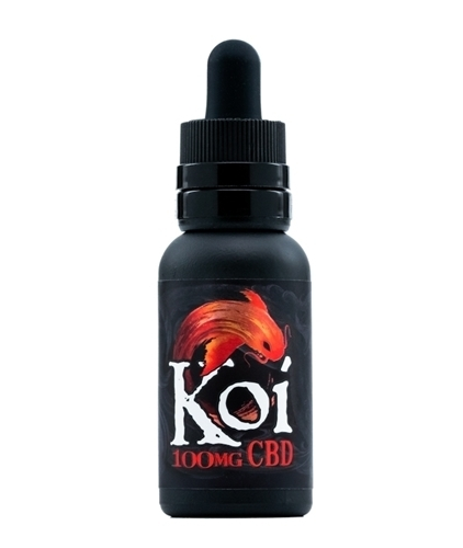 Koi CBD Vape Juice Red Strawberry 100mg