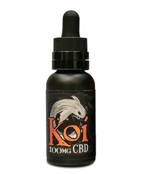 Koi CBD Vape Juice White Flavourless 100mg