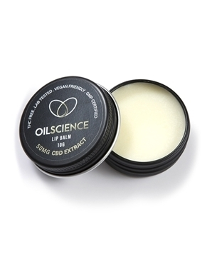 Oil Science 50mg CBD Lip Balm - Spearmint