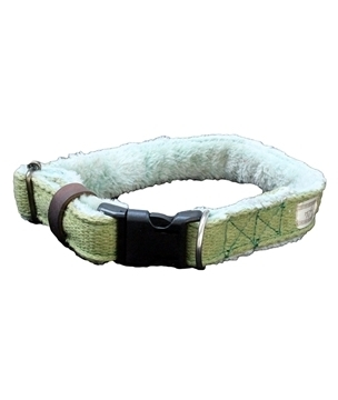 Large Hemp Dog Collar