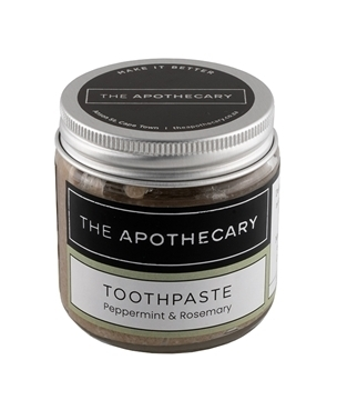 The Apothecary Toothpaste Rosemary and Peppermint