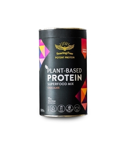Plant-Based Protein Mix - Chocolate 500g