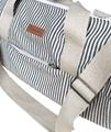 Hemp Tog Bag Stripe Outer Detail