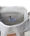 Hemp Tog Bag Stripe Inner Detail