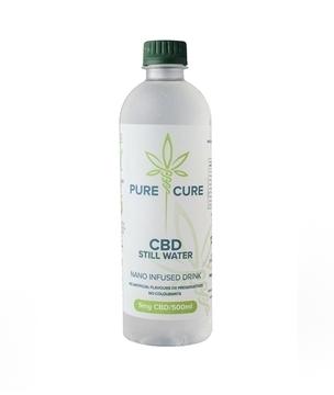 Pure Cure CBD Still Water 500ml