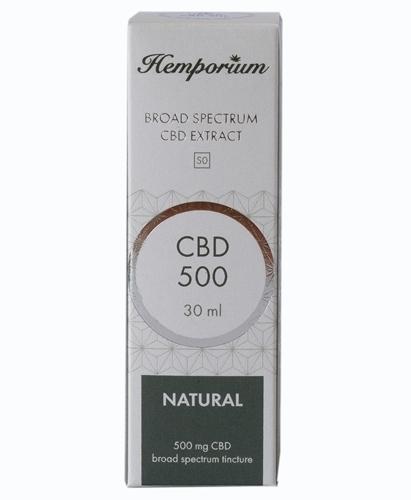 Hemporium 500mg Broad Spectrum CBD Natural