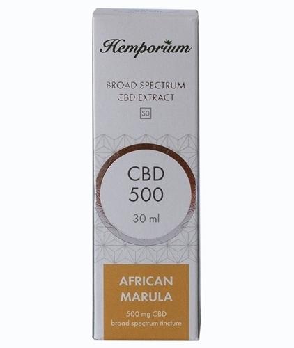 Hemporium 500mg Broad Spectrum CBD African Marula