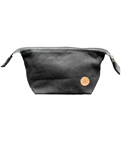 Hemp Mini Toiletry Bag Black